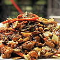 Dostava kineske hrane Beograd Soya Sos - Piletina sa povrćem, bambusom i šitaki pečurkama