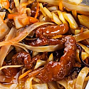 Dostava kineske hrane Beograd Soya Sos - Pohovani komadići svinjetine sa povrćem u sosu po želji